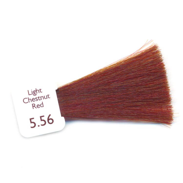 PPD Free Hair Colour - light chestnut red