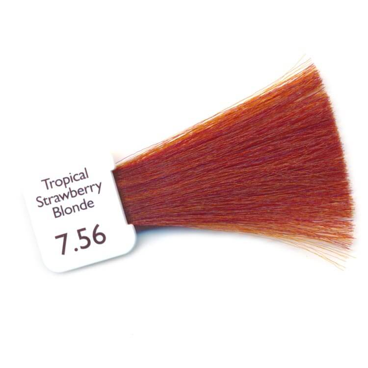 PPD Free Hair Colour - tropical strawberry blonde