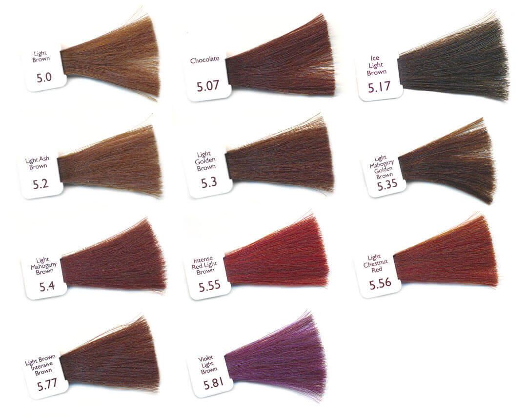 Cartella Colori Tinte Naturali Per Capelli Natulique