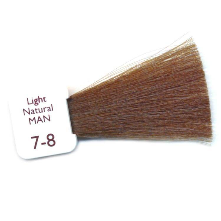 light natural mens hair colour