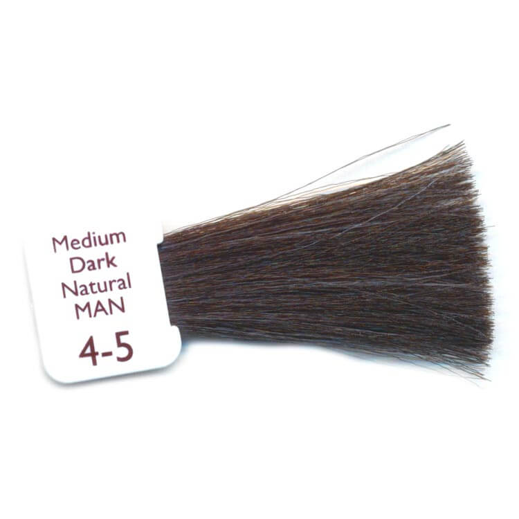 medium dark natural mens hair colour
