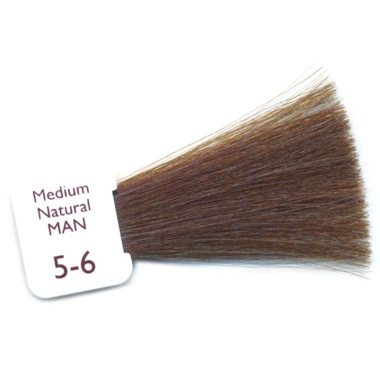 medium natural mens hair colour
