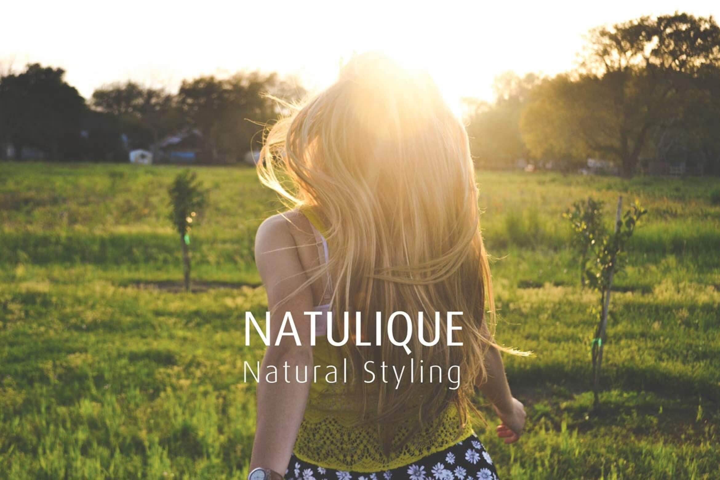 How To Style Hair Without Heat With Natulique Certified Organic Product