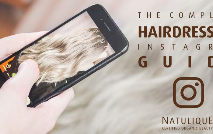 instagram guide hairdressers