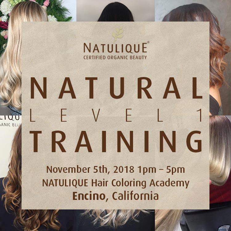 NATULIQUE Training Los Angeles California
