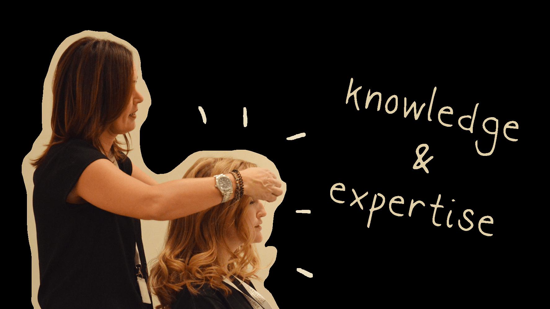 expert hairdresser