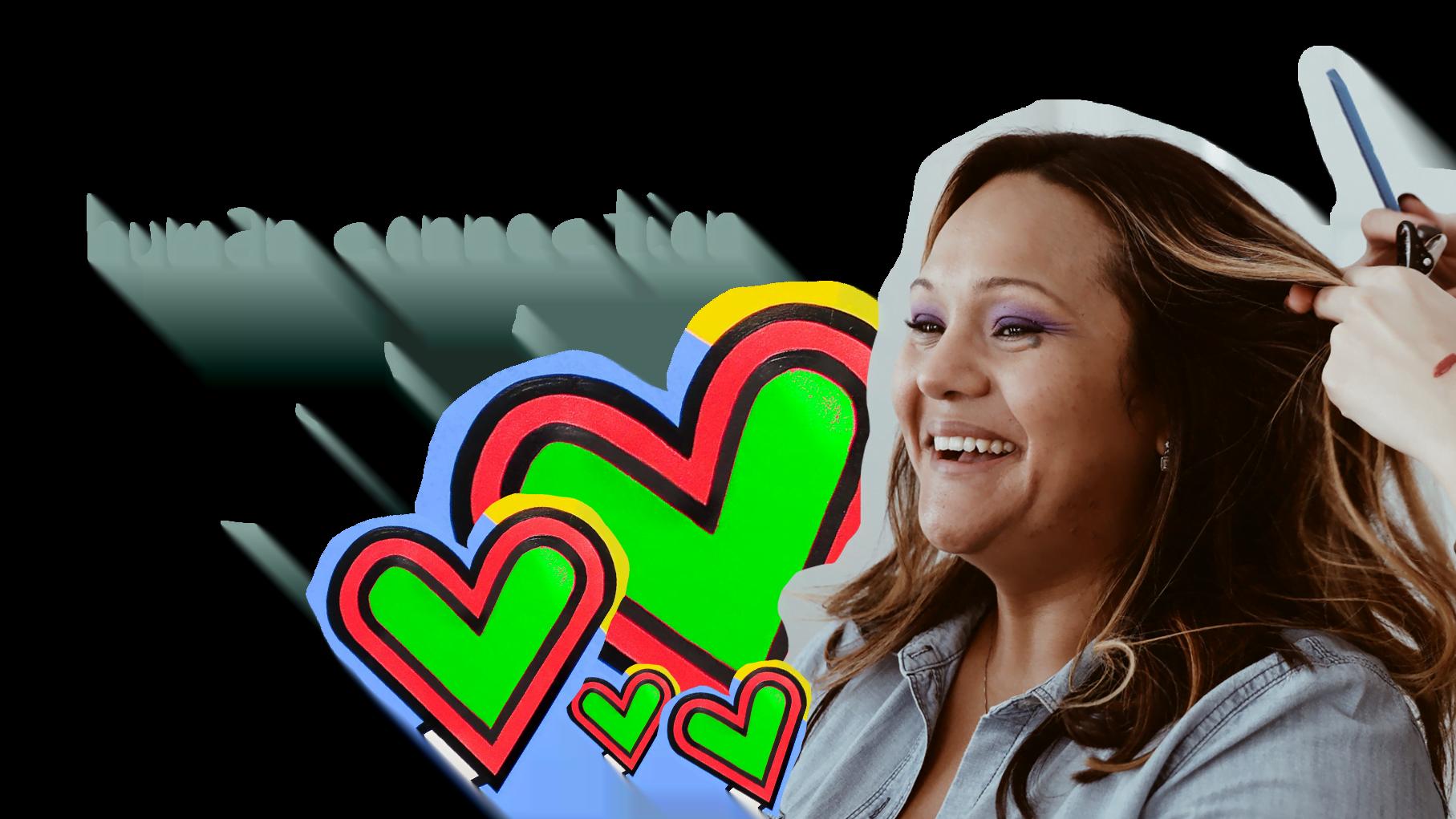 client connection hairdresser