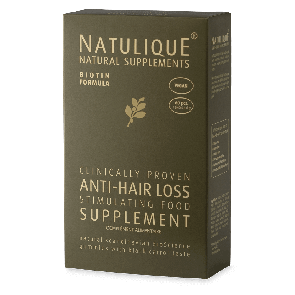 Anti-Hair Loss Vitamin Supplements